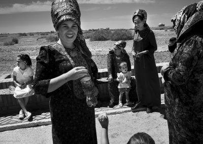 Family day out,  Kunya-Urgench, Turkmenistan