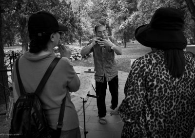 Harmonica Player, Temple of Heaven Park, Beijing , China